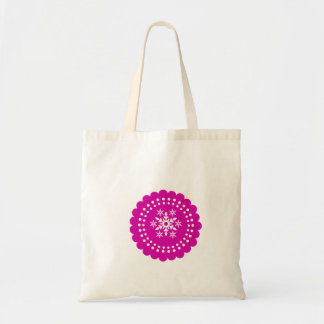 Berry Christmas Holiday Snowflakes Tote Bag Gift