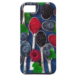 berry fruit background case for the iPhone 5