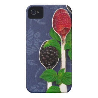 berry fruit background Case-Mate iPhone 4 case