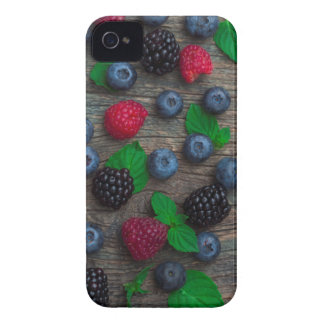 berry fruit background iPhone 4 case