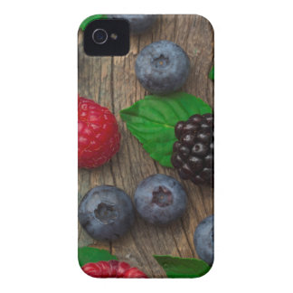 berry fruit background iPhone 4 Case-Mate case