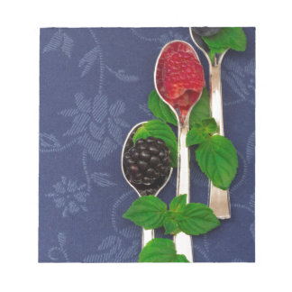 berry fruit background notepad