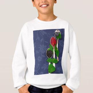 berry fruit background sweatshirt