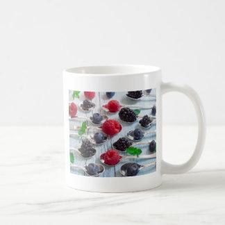 berry fruit coffee mug