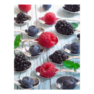 berry fruit letterhead