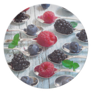 berry fruit plates