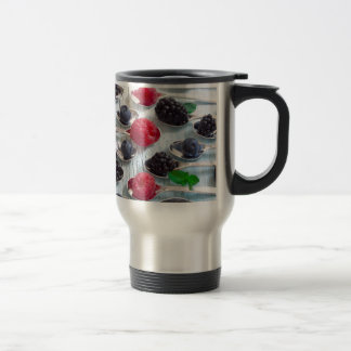 berry fruit travel mug