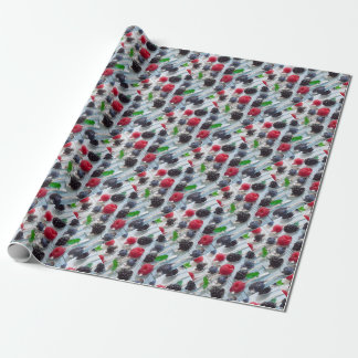berry fruit wrapping paper