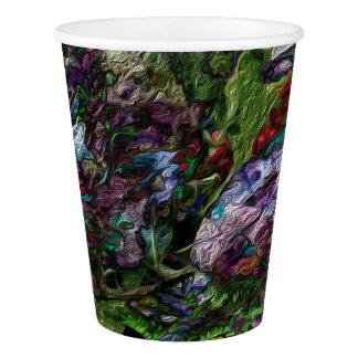 Berry Fusion Paper Cups