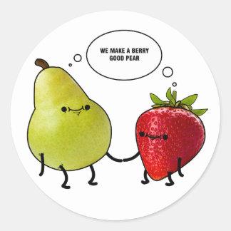 Berry good sticker