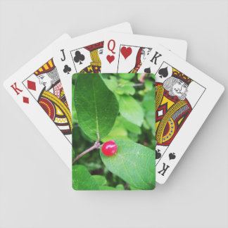Berry in Boothbay Theme Playing Cards, Index faces Poker Deck