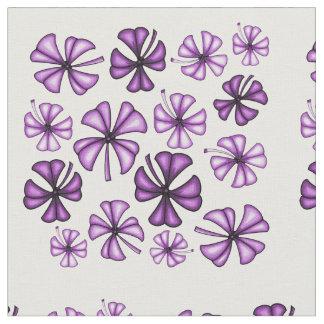 Berry Lucky Shamrock Clover Fabric