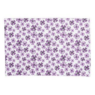 Berry Lucky Shamrock Clover Pillowcase