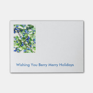 Berry Merry Holidays Notes