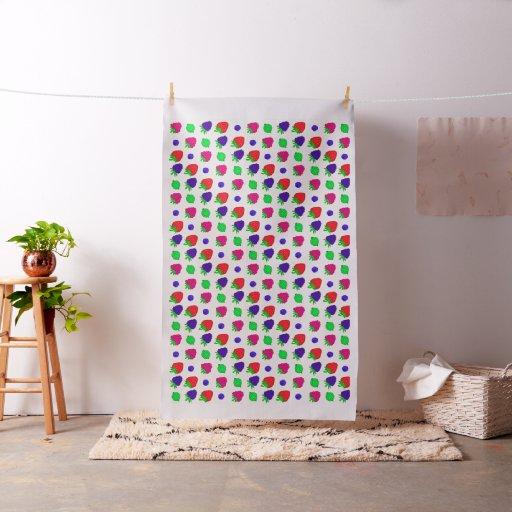 Berry mix fabric