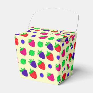Berry mix favor box