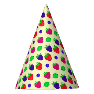 Berry mix party hat