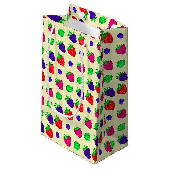 Berry mix small gift bag