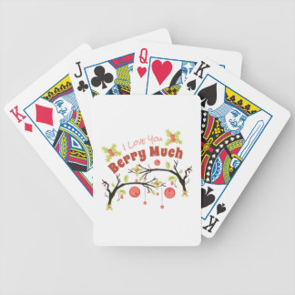 Berry Much Bicycle Playing Cards