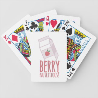 Berry Nutritious Bicycle Playing Cards