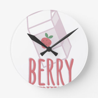 Berry Nutritious Clock