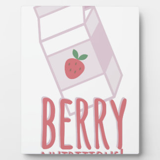 Berry Nutritious Plaque