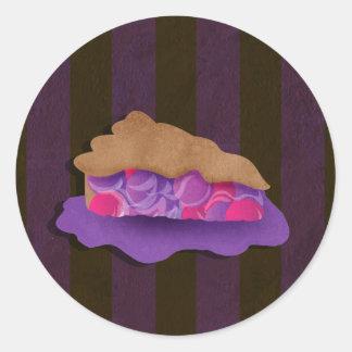 Berry Pie Classic Round Sticker