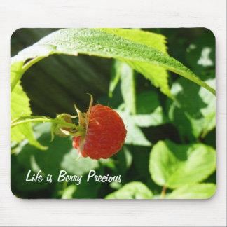 Berry Precious Raspberry fun mousepad