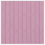 Berry Purple Herringbone Fabric