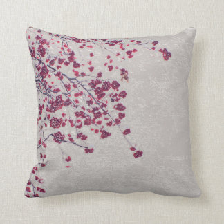 Berry Tree Throw Pillow