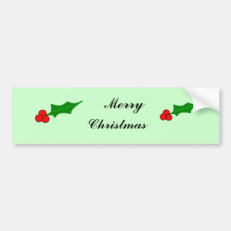 Berrys, Berrys, Merry, Christmas Bumper Sticker