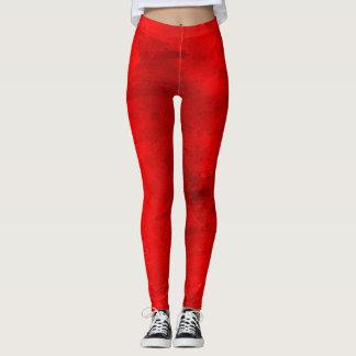 Berserk Red Kawaii Fashion Workout Charming Hip Leggings