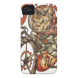Berserk Steampunk Motorcycle Cat Go Wild T-Shirt.p iPhone 4 Cover