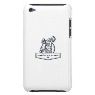 Berserker Lifting Barbell Kettlebell Fitness Circl Barely There iPod Covers