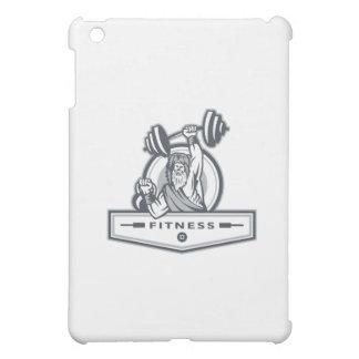 Berserker Lifting Barbell Kettlebell Fitness Circl iPad Mini Cover