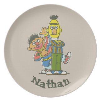 Bert and Ernie Classic Style | Add Your Name Plate