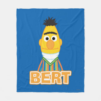 Bert Classic Style Fleece Blanket