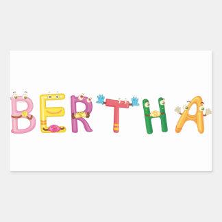 Bertha Sticker