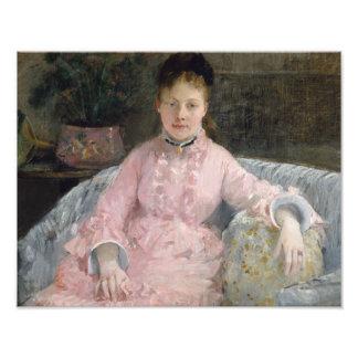 Berthe Morisot - The Pink Dress Photo Print