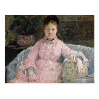Berthe Morisot - The Pink Dress Postcard
