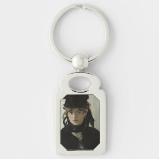 Berthe Morisot with a Bouquet of Violets by Manet Keychains