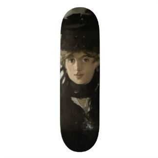 Berthe Morisot with a Bouquet of Violets by Manet Skate Board Decks