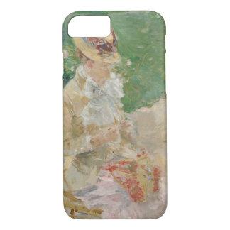 Berthe Morisot - Young Woman Knitting Case-Mate iPhone Case