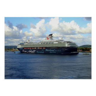 Berthed in Bonaire Poster