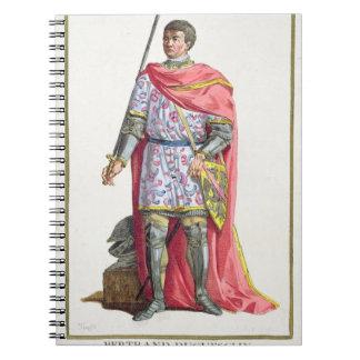 "Bertrand du Guesclin (1320-80) de ""DES E de Receui Carnets À Spirale"