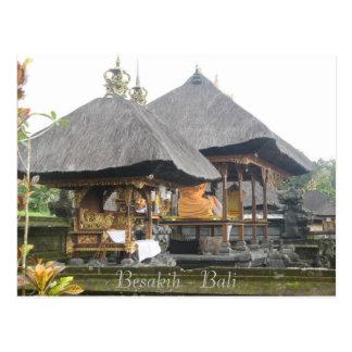Besakih Bali Postcard