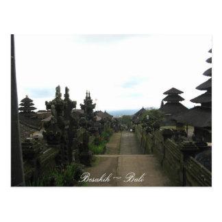 Besakih Temple Bali Postcard