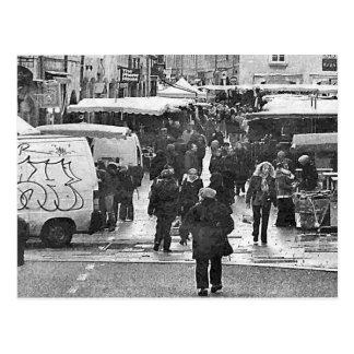Besançon braderie postcard