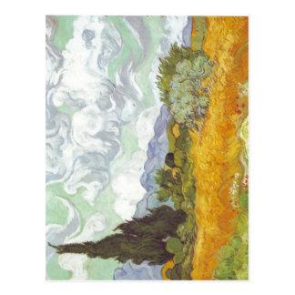 Beschreibung Description en:Vincent van Gogh Kornf Postcard