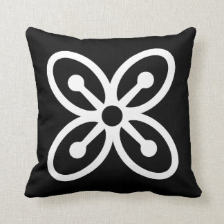 BESE SAKA | Symbol of Affluence, Power, Abundance Throw Pillow